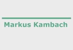 Markus Kambach - Coach und Outdoortrainer